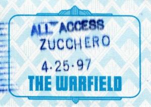 All access Zucchero
